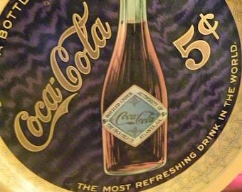 Vintage Coca Cola Anniversary Commemorative Limited Edition Tray Rare Coke Tray SALE PRICE was 24.00 now 17.00