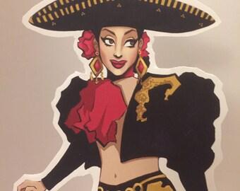 Valentina cutout