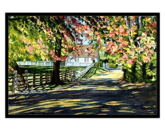 Landscape Painting, Living Room Decor, Wall Art Prints, Housewarming Gift, Extra Large Wall Art, Home Decor, Oil Painting