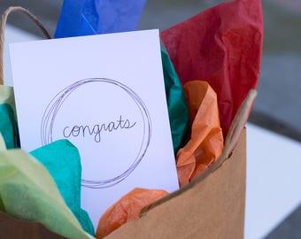 congrats Circle Greeting Card