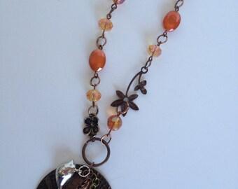 Leafing Out Vintaj Necklace