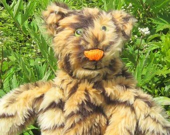 Tiger Puppet Toy Made to Order Activity Toy Made to Measure Nursery Teacher Aid Tiger Toy Present Puppet Kids Toy Boy or Girl's Fun Present