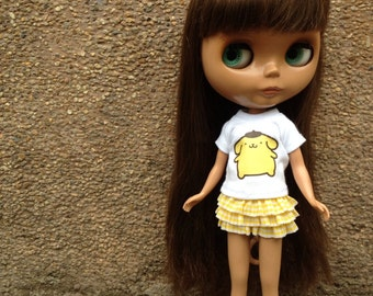 Blythe Outfits (T-shirt and skirt)