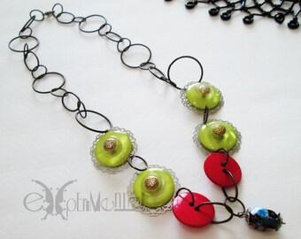 60's colors - necklace