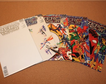 1994 DC Comics / The End Of Today/ Zero Hour/ Crisis In Time!