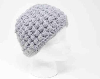 Crochet Hat Pattern - Bibbity Bobbity Short n Sassy 3-in-1 includes Messy Bun hat crochet pattern & full beanie crochet pattern - PDF