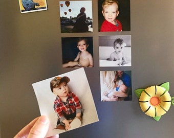 Custom Square Photo Magnets 3x3 Personalized with Your Photos!