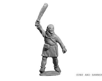 To Glory. Armed Peasant. 28 mm Crusade