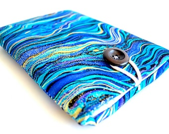iPhone 7 Sleeve, Galaxy S7 Edge Sleeve, iPhone 8 Plus, iPhone X, Galaxy Note8, Samsung Galaxy S8, Android Pixel Case - Abalone