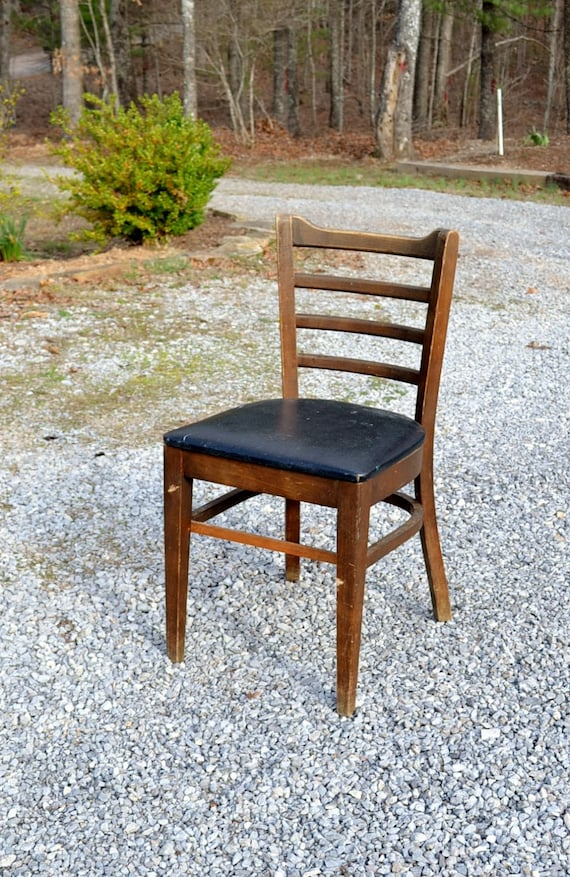 Vintage Bianco Bentwood Chair Mid Century Dining Chair Black