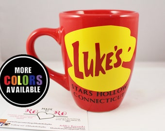 Gilmore Girls mug. Luke's Diner Coffee Mug.Stars Hollow.