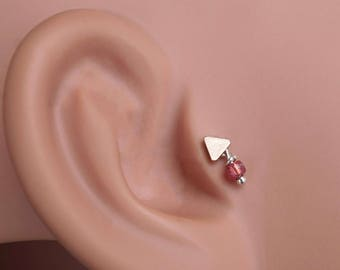 Rose gold tragus Etsy