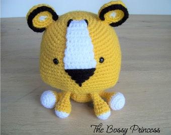Crochet Lion-Amigurumi Lion-Crochet Lion Toy- Lion Stuffed Animal-Amigurumi Lion Toy-Crochet-Lion Animal-Lion Stuffed Toy-Lion Stuffed Toy