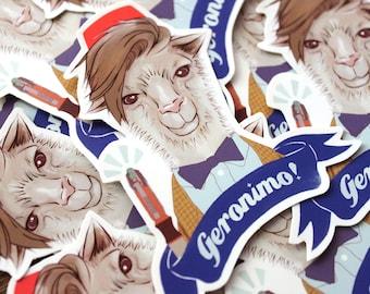 11th Doctor - Llama - Sticker - Doctor Who