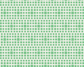 Squared Elements by Art Gallery Fabrics, Wasabi, SE-623