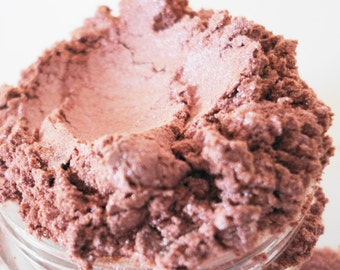 Damsel  Dusty Rose Pink Mineral Makeup Eye Shadow  10g  Sifter Jar eyeshadow Natural Organic Vegan Smokey eyes Eyeliner
