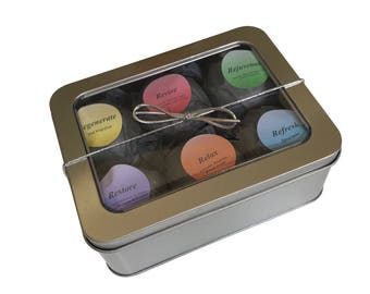 Bath Bomb Gift Set Aromatherapy Essential Oil Gift Package Bathbombs Spa Gifts Bath Melts Bath Fizzies