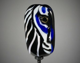 NEW! Tiger Focal Lampwork Glass Bead - Eye of the Wild Collection - Big Cat