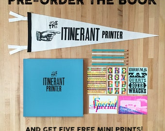 Pre-Order The Itinerant Printer Coffee Table Book!