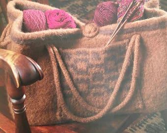 PDF Knit Felted Bag