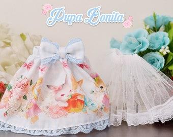 Spring Bunny for MSD/MDD/1/4 Dolls