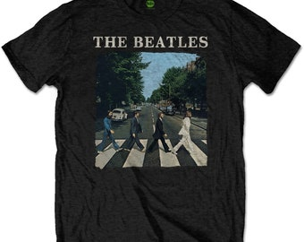 THE BEATLES  T Shirt Abbey Road