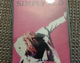 Simply Red / A New Flame Cassette Tape 1989