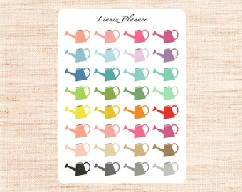 Water Can Regular size (matte planner stickers, perfect for planners)