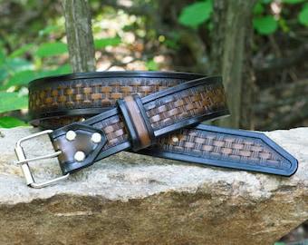 Leather Belt, Tooled leather belt, Personalized, Western belt Women's leather belt, Leather belt, Men's belt, bdsm belt