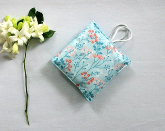 Lavender Sachets Set of 2 Floral Lavender Pillows - Mother's Day Gift - Aromatherapy - Scented Drawer Sachet