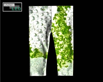 Green Bubbles Baby and Toddler Leggings