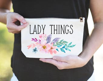 Lady Things Tampon Holder, Lady Things Tampon Pouch, Lady Things Tampon Bag, Funny Tampon Pouch, Tampon Holder, Tampon Pouch, Tampon Bag