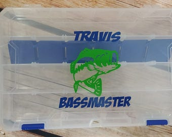 Personalized Tackle Box - Fishing