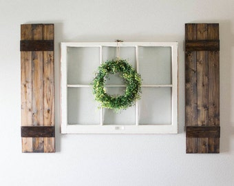 Shutters wall decor, window shutters, window shutter wall decor, shutters, shutters wall decor, shutter decor, Farmhouse decor