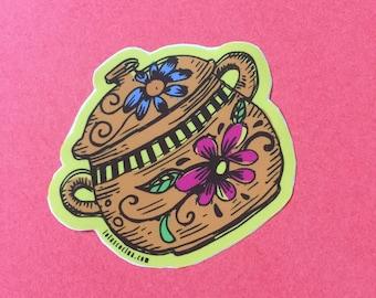 Mexican Olla de Barro Cocina Series Stickers