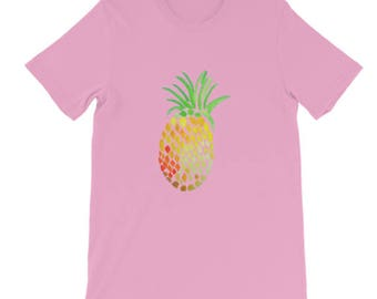 Holla Back Co. Pink Pineapple T-shirt