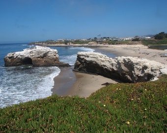 Santa Cruz Photography, Santa Cruz Print, Santa Cruz Wall Art, Santa Cruz beach, Santa Cruz Note  Card