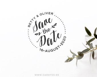 Save the Date Design • Wedding monogram • Wedding logo • DIY wedding