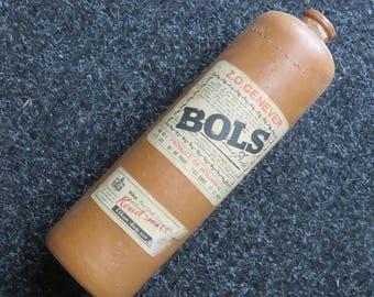 Vintage Sandstone Bottle - Erven Lucas Bols - Amsterdam - Collection
