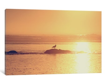 iCanvas Kalaloch Sunset I Gallery Wrapped Canvas Art Print by Laura Marshall