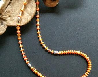 Native American Indian Jewelry, Santo Domingo Necklace, American Indian Jewelry,Spiny Oyster Vintage Necklace