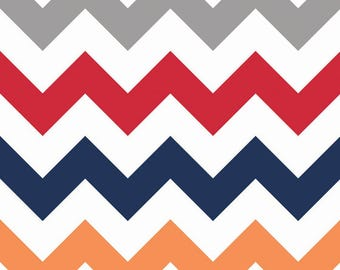 Large Chevron from Riley Blake, C330-80 Red, Cotton, Choose the Cut, Boy Fabric, Boy Chevron, Quilt Backing