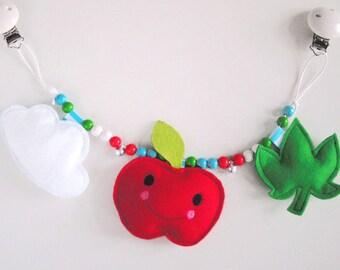 Stroller Chain apple