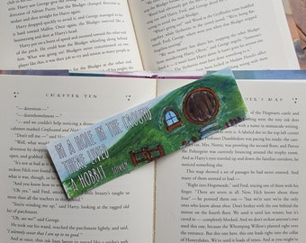 Hobbit Hole - Lord of the rings  - Bookmark