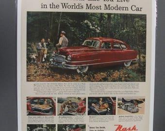 Nash #118  Nash    Magazine Ad   1951