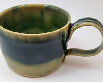 SALE Hand thrown mug