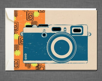 Camera Greetings Card