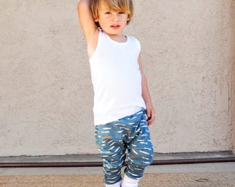 PDF Pattern - Basic Jogger Pants - Babies/Toddlers - Newborn to 5-6T - Instant Download - Easy Photo Tutorial