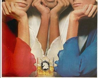 1967 Advertisement White Horse Scotch Whisky 60s Mid Century Women Good Guys Bar Pub Wall Art Decor