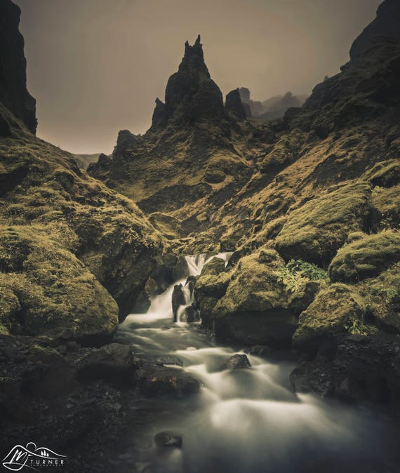Þakgil [Photographic Print]